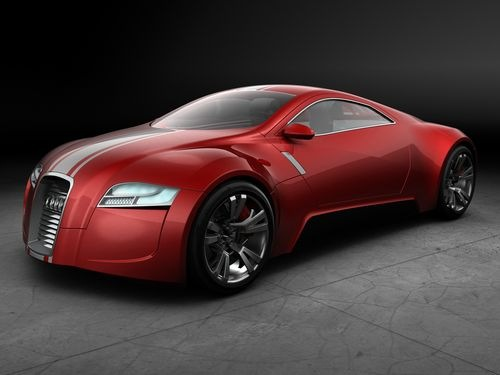 2006 audi r zero concept red Super cool Audi Concept Car designs from around the web.